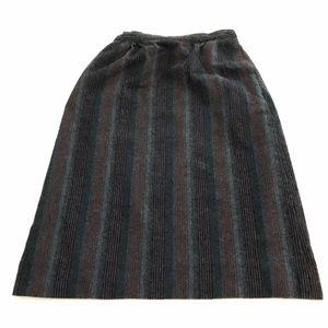 Vtg 25 XS S pendleton womans pencil skirt wool str